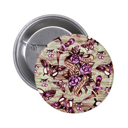 Modelo de mariposa verdadero de Surfabilly del amo Pin