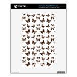 Modelo de mariposas del estampado leopardo calcomanía para el NOOK color