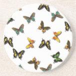 Modelo de mariposas posavasos diseño