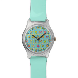Modelo de mariposas relojes de pulsera