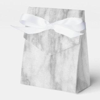 Modelo de mármol blanco y gris de la textura caja para regalos