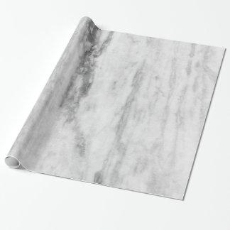 Modelo de mármol blanco y gris de la textura papel de regalo