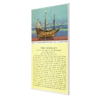 Modelo de Mayflower Impresion En Lona