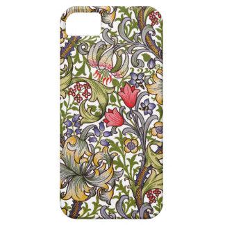 Modelo de menor importancia William Morris del iPhone 5 Case-Mate Protectores