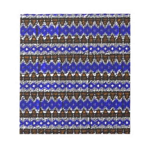Modelo de moda abstracto bloc de notas