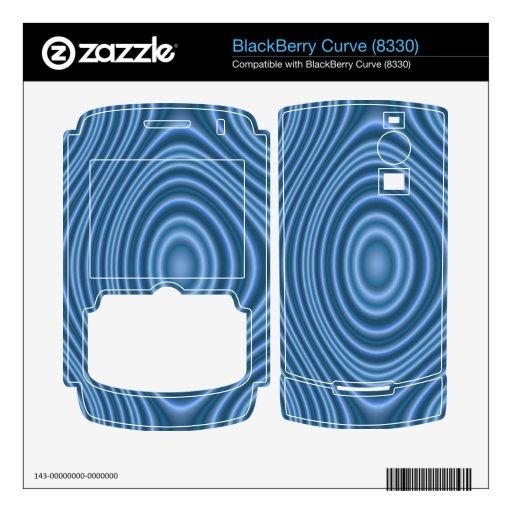 modelo de moda azul BlackBerry skin
