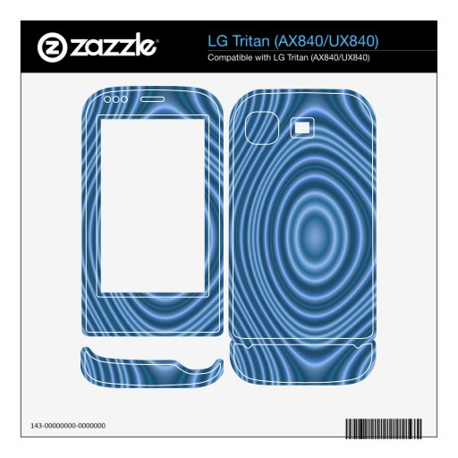 modelo de moda azul LG tritan calcomanía