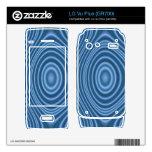 modelo de moda azul LG vu plus calcomanías