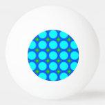Modelo de moda colorido del círculo pelota de ping pong