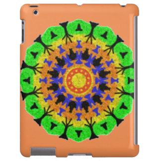 Modelo de moda colorido funda para iPad