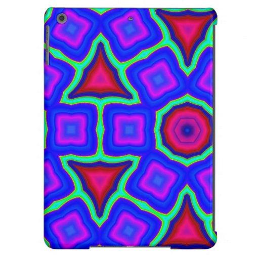 Modelo de moda colorido funda para iPad air