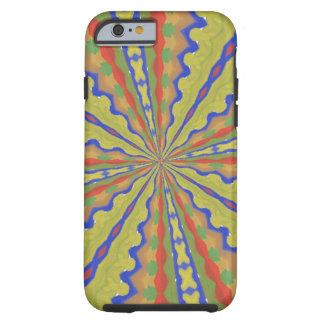 Modelo de moda colorido funda para iPhone 6 tough