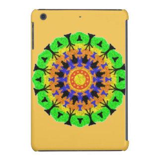 Modelo de moda colorido fundas de iPad mini