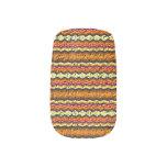 Modelo de moda colorido pegatinas para uñas