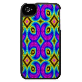 Modelo de moda colorido iPhone 4 cárcasas