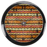 Modelo de moda colorido reloj aqua clock