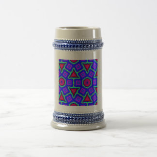 Modelo de moda colorido taza