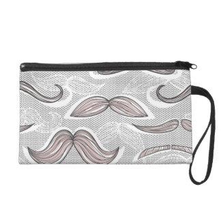 Modelo de moda del bigote