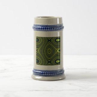 modelo de moda multicolor taza de café