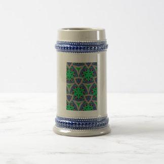 modelo de moda multicolor tazas de café