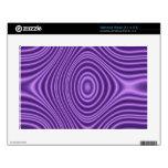 modelo de moda púrpura skins para netbooks