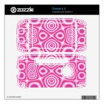 Modelo de moda rosado sidekick II calcomanía