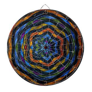 Modelo de mosaico abstracto del vitral