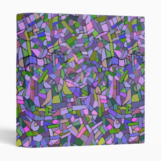 Modelo de mosaico abstracto rosado púrpura