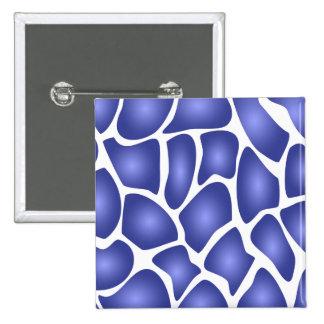 Modelo de mosaico al azar azul profundo pins