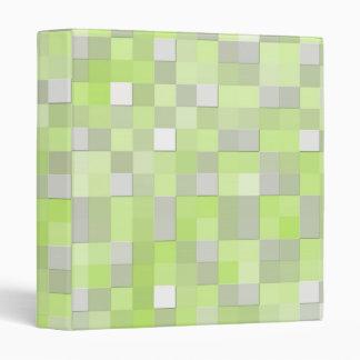 Modelo de mosaico amarillo chartreuse