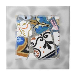 Modelo de mosaico de Gaudi Tejas Ceramicas