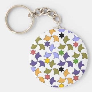 Modelo de mosaico de la teja del estilo de Alhambr Llavero Redondo Tipo Pin
