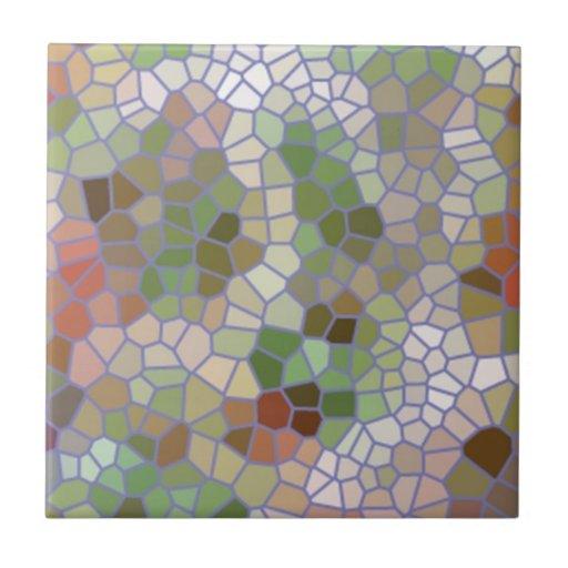 Modelo de mosaico de moda azulejo cuadrado pequeño