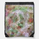 Modelo de mosaico de moda mochilas