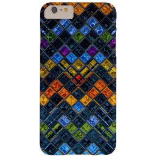Modelo de mosaico del vitral #8 funda de iPhone 6 plus barely there