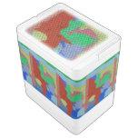 Modelo de mosaico extraño neverita igloo