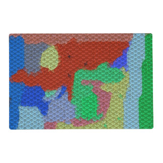 Modelo de mosaico extraño tapete individual