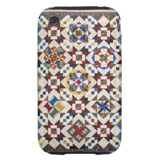 Modelo de mosaico funda though para iPhone 3