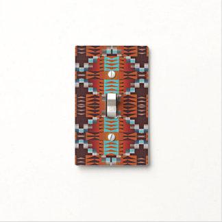Modelo de mosaico indio de la cabina del nativo tapa para interruptor