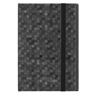 Modelo de mosaico oscuro iPad mini funda