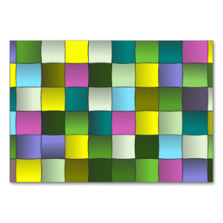 Modelo de mosaico tejido