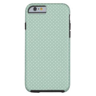 Modelo de muy buen gusto de la verde menta del funda para iPhone 6 tough