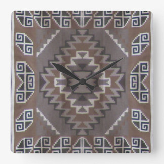 Modelo de Navajo Reloj Cuadrado