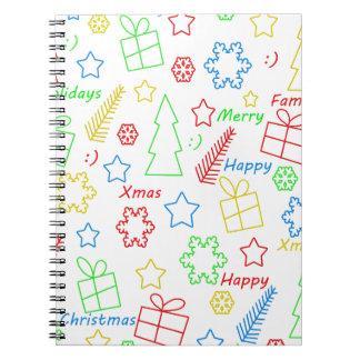 Modelo de Navidad Cuadernos