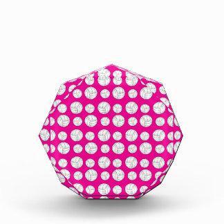 Modelo de neón de los voleiboles de las rosas