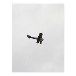 Modelo de Nieuport 28 en vuelo Postal