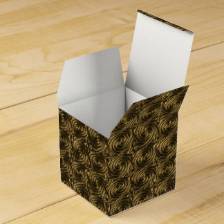 Modelo de nudos espiral céltico de oro antiguo cajas para regalos