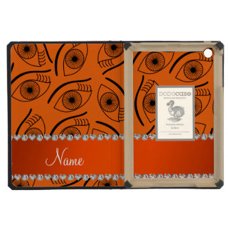 Modelo de ojo anaranjado conocido personalizado