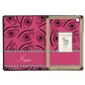 Modelo de ojo rosado conocido personalizado