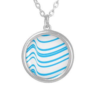Modelo de onda azul pendientes personalizados